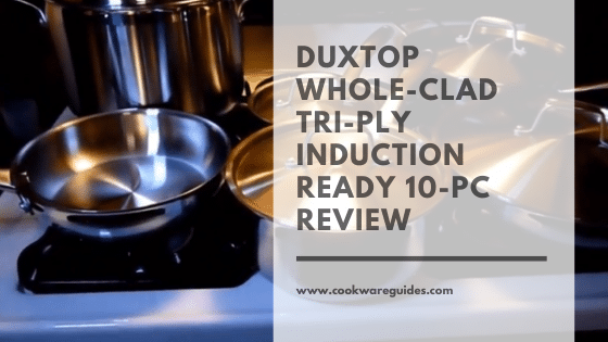Duxtop cookware Whole-Clad Tri-Ply Stainless Steel Induction Ready Premium